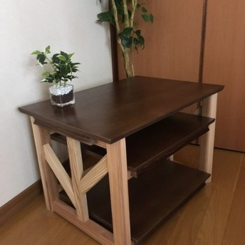 Forest 03 Low board 木製オリジナルデザインローボード TV台 テレビ台