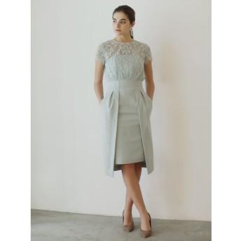 【ラグナムーン/LAGUNAMOON】 LADYレイヤードレースタイトドレス