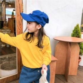 子供服 女の子 3色可選択 トップ シャツ 新作 人気 綿毛 2019秋冬 新しい 学生 韓国 ファッション 長袖トップス キッズ