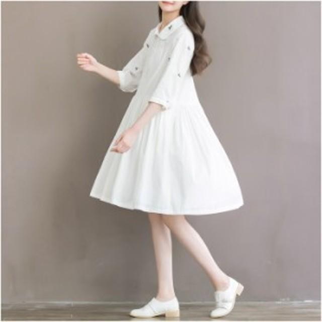 ワンピース レディース ワンピ 服 きれいめ ファッション 女性 大きいサイズ 通勤 シンプル フォーマル オフィス カジュアル 30代 40代 5
