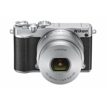 【新品・送料無料】Nikon 1 J5 標準パワーズームレンズキット (シルバー)