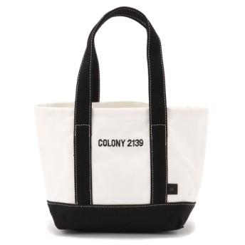COLONY 2139(COLONY 2139) レディース ロゴ刺繍入りトートバッグ 小 2 ブラック