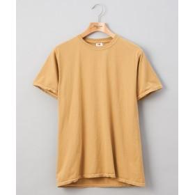 Discoat(ディスコート) メンズ フルールオブザルーム 後染めカラーTシャツ モカ