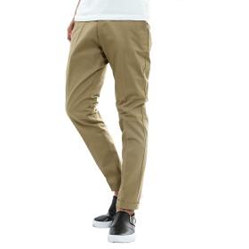 インプローブス テーパードパンツ ストレッチ ツイル テーパード チノパン ズボン センタープレス ボトムス メンズ ベージュ XL サイズ