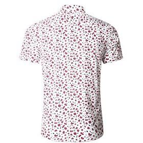 NUTEXROL(ニューテックスロール) シャツ メンズ 半袖 コットン ボタンダウンシャツ チェック柄