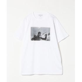 アニエスベー SCM4 TS アーティストTシャツ メンズ ホワイト 1 【agnes b.】