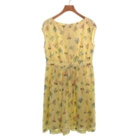 BON MERCERIE DE ANATELIER / ボンメルスリードアナトリエ レディース ワンピース 色:黄x緑xピンク等(花柄) サイズ:36(S位)