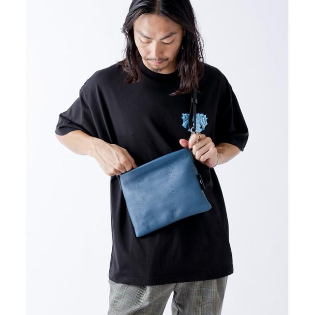 Lui's(ルイス) メンズ 【ITTI/イッチ】 MID REMY サコッシュバッグ ブルー