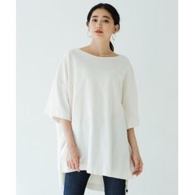 Loungedress(ラウンジドレス) レディース 【YANUK】ONLINE限定 オーバーサイズTシャツ オフホワイト