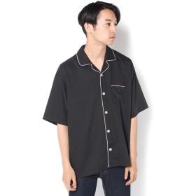 COLONY 2139(COLONY 2139) メンズ パイピング半袖シャツ ブラック