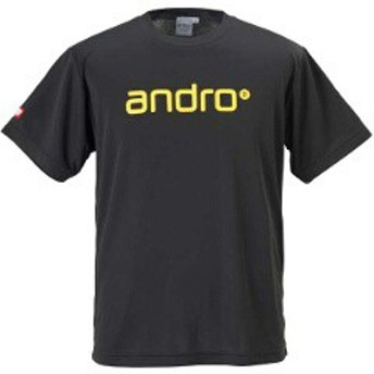 アンドロ ANDRO ナパTシャツ 4 [サイズ:M] [カラー:ブラック×イエロー] #305700 スポーツ・アウトドア