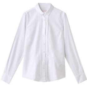Brooks Brothers ブルックス ブラザーズ ノンアイロン コットンドビーストライプ プリーツプラケット ドレスシャツ Tailored Fit ホワイト