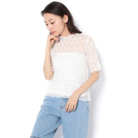 OUTLET(アウトレット) レディース 【WHO'S WHO gallery】マイレースTEE オフホワイト