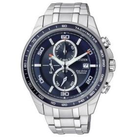 【送料無料】シチズン CITIZEN 腕時計 海外モデル ECO DRIVE TITANIUM CHRONOGRPAH エコドライブ クロノグラフ チタン CA0345-51L メンズ