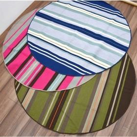 円形 ラグ 洗える カーペット 日本製 絨毯 じゅうたん ラグマット リビング 子供部屋  コンパクトラグ円形 約2畳 丸170cm/R