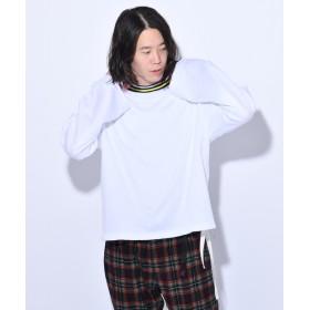 OUTLET(アウトレット) メンズ 【Ciaopanic】衿ニットプルオーバー オフホワイト