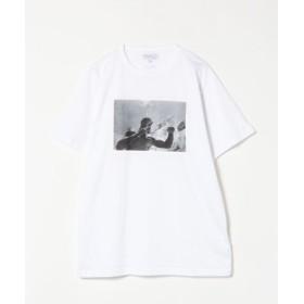 (agnes b./アニエスベー)SCM4 TS アーティストTシャツ/メンズ ホワイト