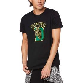 (ディーゼル) DIESEL メンズ Tシャツ タイガーグラフィック 00SXMJ0091A L ブラック 900