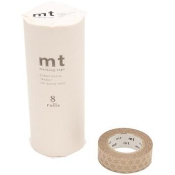 mt マスキングテープ 8P 麻の葉・真鍮 MT08D214