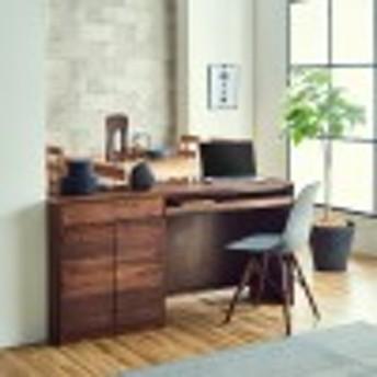【受注生産】天然木ウォルナット材の組み合わせリビング収納