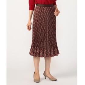 KORET / コレット オブリークチェック スカート