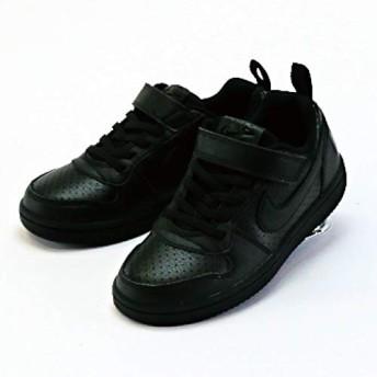 [ナイキ] キッズ コート バーロウ LOW SL PSV(ブラック/ブラック) AV3167-001 001 21.0cm