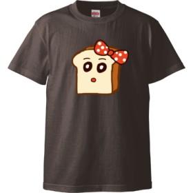 パンミミTシャツ(カラー : チャコール, サイズ : L)