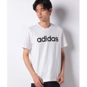 (SPENDY'S Store/スペンディーズストア)adidasMCOREリニアTシャツ/メンズ ホワイト系