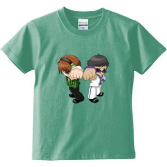 トムとマルク ver.2(キッズTシャツ)(カラー : メロン, サイズ : 130)
