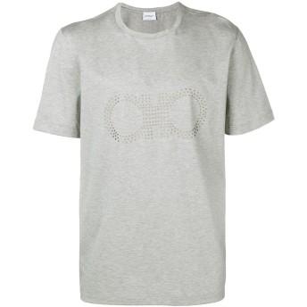 Salvatore Ferragamo ロゴ Tシャツ - グレー