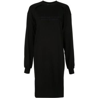 Juun.J スウェット ドレス - ブラック