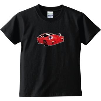 おもちゃんねるん(キッズTシャツ)(カラー : ブラック, サイズ : 120)