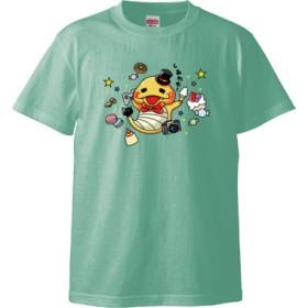 games tuthinoko Tシャツ(カラー : メロン, サイズ : L)