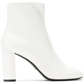 Prada レザー ブーツ - ホワイト