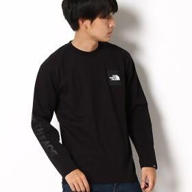 [マルイ] 【THE NORTH FACE】Tシャツ(メンズ ロングスリーブスクエアロゴティー)/ザ・ノース・フェイス(THE NORTH FACE)
