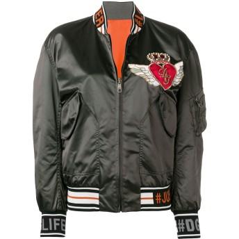 Dolce & Gabbana サテン ボンバージャケット - グレー