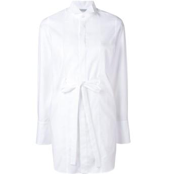 Stella McCartney ベルテッド シャツドレス - ホワイト
