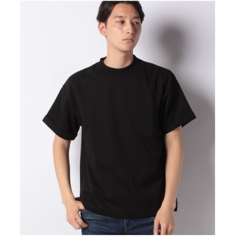koe ポンチ折り返し袖TEE(ブラック)【返品不可商品】