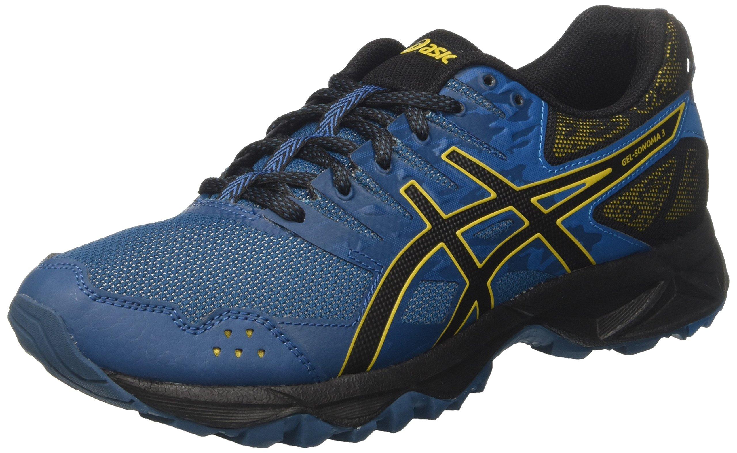 Asics Gel-Kayano 25 Black Neon Lime Men Running Shoes Sneakers 1011A019-001