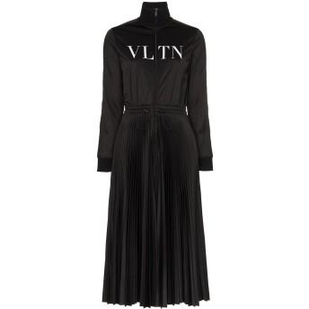 Valentino VLTN プリーツドレス - ブラック