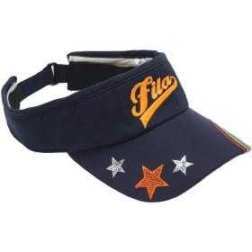 フィラ FILA 帽子 サンバイザー レディス ネイビー フリー
