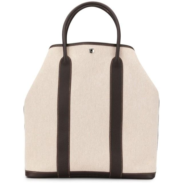 Hermès Pre-Owned ガーデン ファイル MM ハンドバッグ - ホワイト
