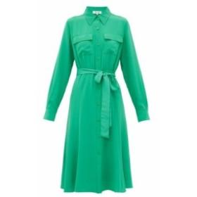 ダイアン フォン ファステンバーグ Diane Von Furstenberg レディース ワンピース ワンピース・ドレス Antonette silk-crepe shirtdress