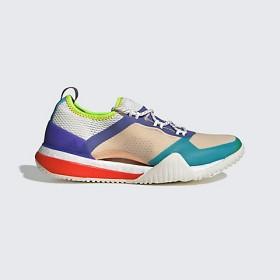 【SALE(三越)】<アディダス バイ ステラ・マッカートニー/adidas by Stella McCartney> PUREBOOST X TR 3.0(D97718) ソフトアプリコット/ジョイパープルS13/ブライトシアン 【三越・伊勢丹/公式】
