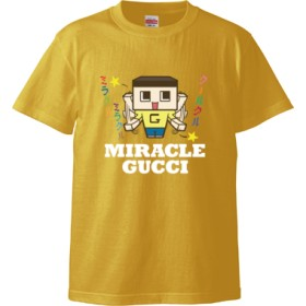 ミラクルミラクルクールクル★_b(Tシャツ)(カラー : バナナ, サイズ : M)