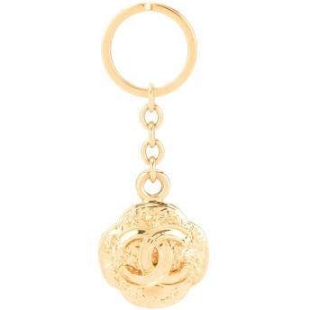 Chanel Pre-Owned ロゴ キーホルダー - ゴールド