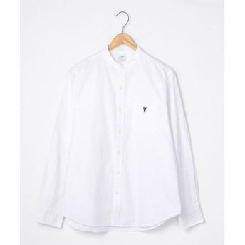 【15%OFF】 コーエン オックスフォードバンドカラーシャツ メンズ WHITE XL 【coen】 【タイムセール開催中】