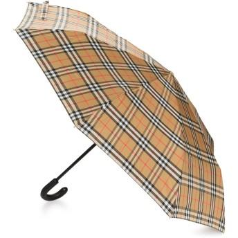 Burberry チェック 折りたたみ傘 - Antique Yellow