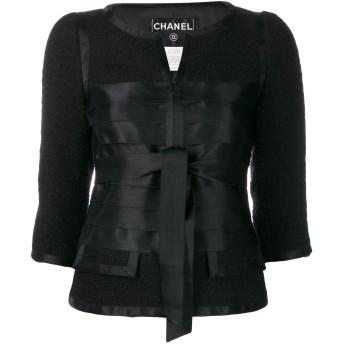 Chanel Pre-Owned 2006's ノーカラージャケット - ブラック