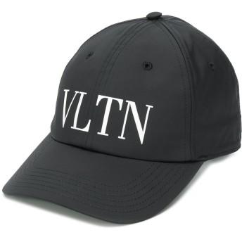 Valentino Valentino Garavani VLTN ロゴ キャップ - ブラック